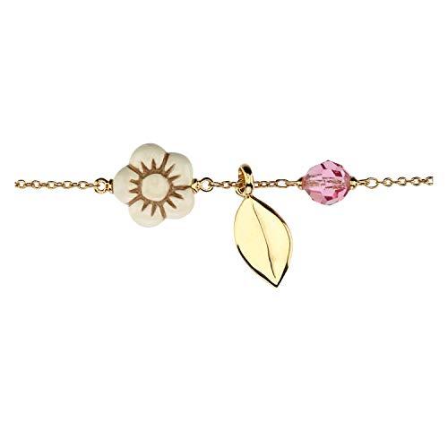 THUN ® - Bracciale Crystal Leaf
