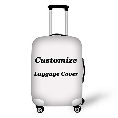 Showudesigns Customize Luggage Cover Dustproof Elastic Protective Dust Custom Suitcase Cover 22-24inch