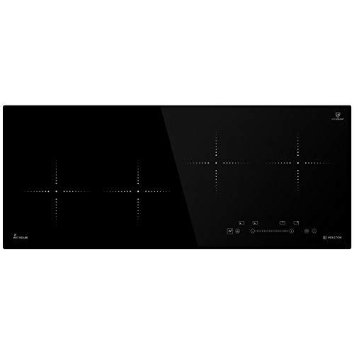 Induktionskochfeld 92cm (Autark, 7kW, 9 Stufen, 4 Zonen, Rahmenlos, TouchSelect Sensortasten, Booster, LED-Anzeige) IND9020RL - KKT KOLBE