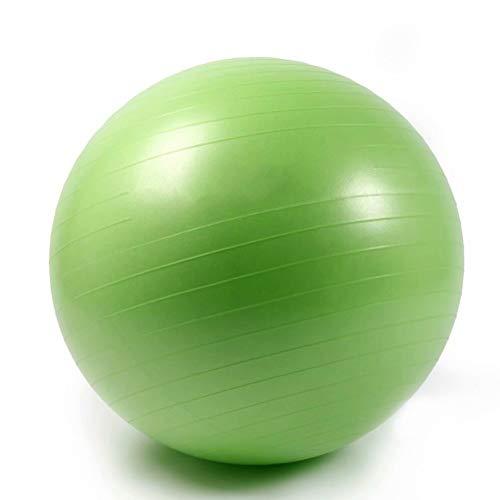 SONGHUI Umweltschutz Aufgeblasen Kleiner Gymnastikball Verdicken Explosionsgeschützt Balance Fitnessbälle Bauchmuskeltraining Nackenmassage Mini Pilates,Grün-93cm