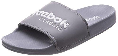 Reebok Unisex Classic Slide Dusch-& Badeschuhe, Grau Cool Shadow White 000, 36 EU