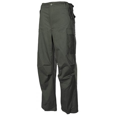 Tucuman Aventura - Pantalon m65 Multi-Poches (Vert Obscur, 48)