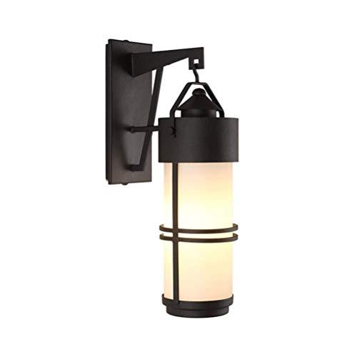 Outdoor Wall Lamp Waterproof Courtyard Light Wrought Iron Corridor Lights Antique Wall Sconce Lamp