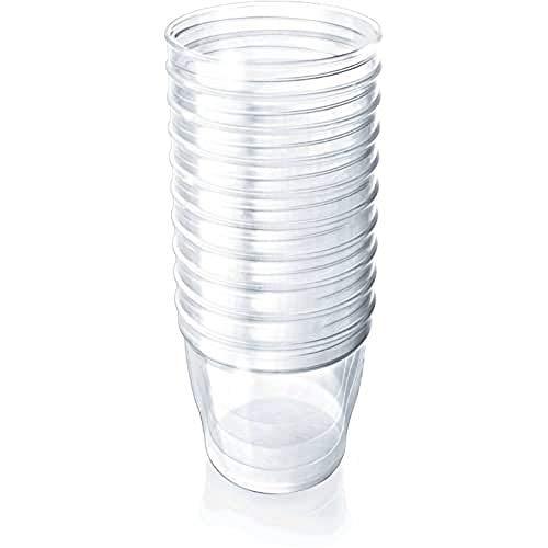 Philips AVENT SCF615/10 Vasetti VIA, Capacità 180 ml, 10 pezzi