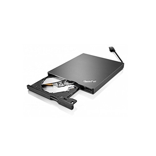 Lenovo 4XA0E97775 ThinkPad UltraSlim USB DVD Burner- Black (Pack of 1)