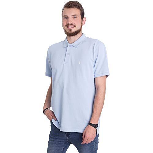 (カーハート) Carhartt WIP メンズ トップス ポロシャツ C-Logo Soft Blue/Wax Polo [並行輸入品]