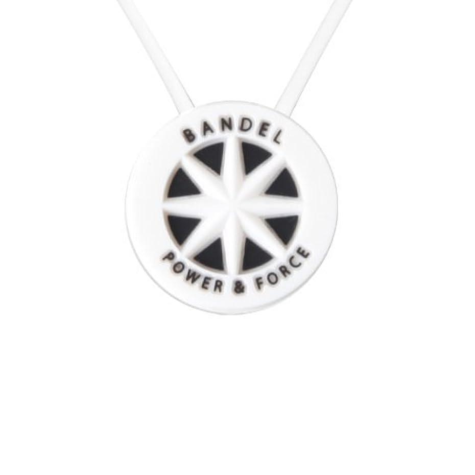 ストライク誘惑協同バンデル(BANDEL)スタンダードネックレス[ホワイト×ブラック]45cm