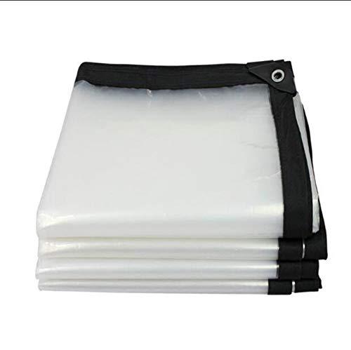 QI-CHE-YI Cubierta Impermeable Transparente, Aislamiento Anti-envejecimiento PE, Grosor 0.12mm, 22 Tamaño,4×5M