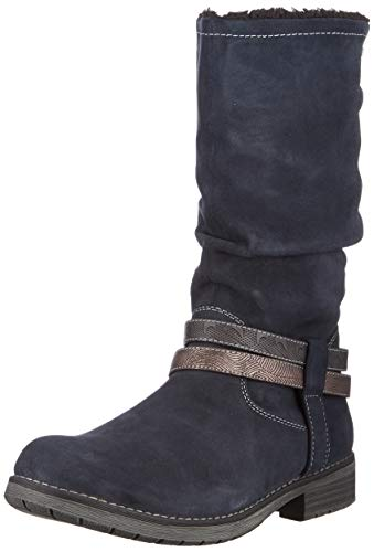 Lurchi Damen LIA-TEX Hohe Stiefel, Blau (Atlantic 22), 38 EU