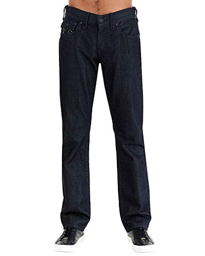 True Religion Jeans Dark Tin Indigo à Rabat Droit Minuit Big T