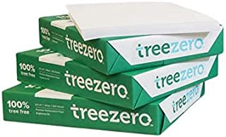 "$32 » Tree Zero Copy Paper, 20lb, 8.5"" x 11"", 92 Bright. Made from sugarcane waste fiber, Tree Free. (3 Reams - 1,500 Sheets)"