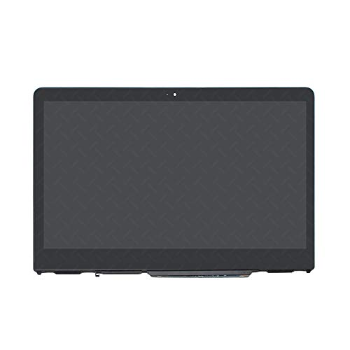 LCDOLED Replacement 14 inches HD 1366x768 LCD Touch Screen Digitizer Assembly Bezel with Board for HP Pavilion x360 14-ba000 14-ba100 14m-ba000 14m-ba100 14m-ba013dx 14m-ba015dx 14-ba110nr 14-ba175nr