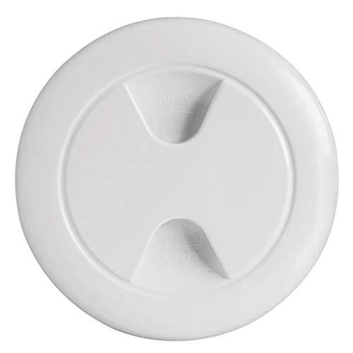 Osculati Inspektionsdeckel Polypropylen weiß 152 mm