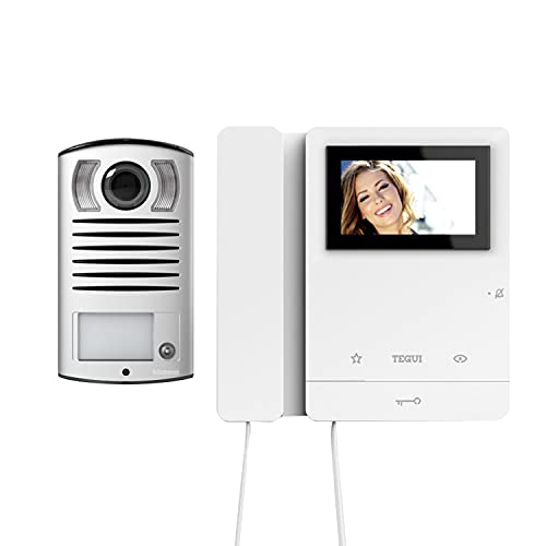Kit Videoportero superficie 2 hilos TeguiLinea 2000 y monitor Serie 8 378121
