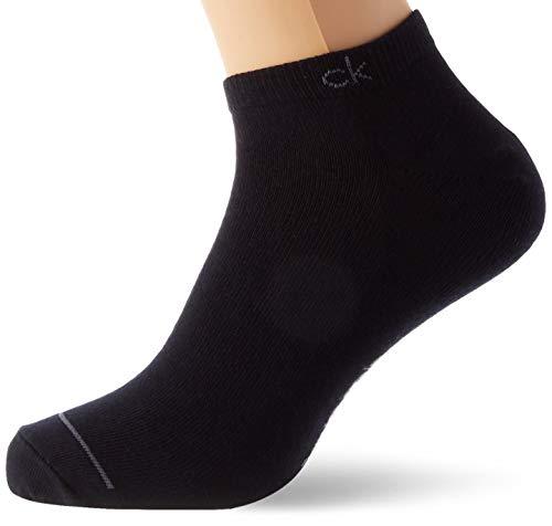 Calvin Klein Socks Mens ECR274 Herren Sneakersocken, 3er Pack, Schwarz, 40/46 Socks, Navy, ONE Size