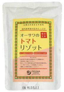 オーサワの発芽玄米トマトリゾット (200g×20個)×1ケース           JAN:4932828024622