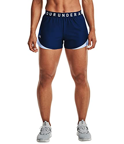 Under Armour Damen Play Up 3.0 Shorts, Regal (415)/Isotop-Blau, Small