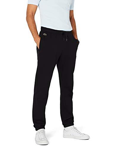 Lacoste Herren Relaxed Sporthose, Schwarz (Noir), L (Herstellergröße: 5)