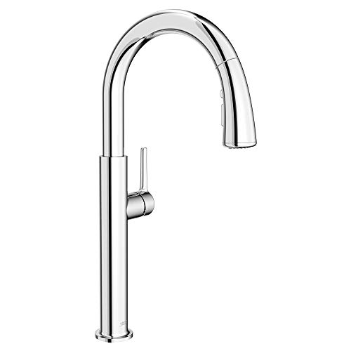 American Standard 4803300.002 Studio S Pull-Down Kitchen Faucet, Polished Chrome