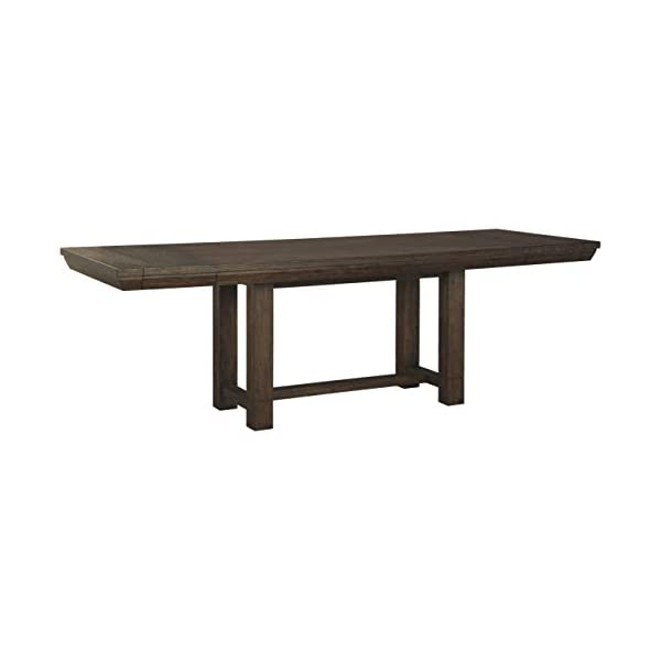 Signature Design by Ashley- Dellbeck Rectangular Dining Room Table – Extendable...