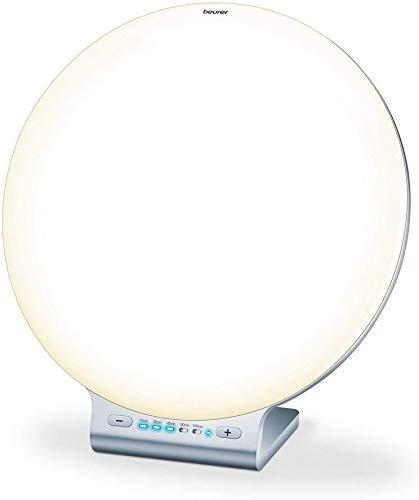 Beurer TL 100 Lampe de luminothérapie connectée | Technologie LED | Lumière d'ambiance et changement de couleur | 10 000 lux