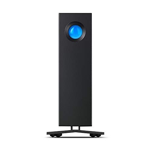 LaCie d2 Professional, externe Festplatte 10 TB, 3.5 Zoll, USB-C, PC & Mac, schwarz, inkl. 5 Jahre Rescue Service, Modellnr.: STHA10000800