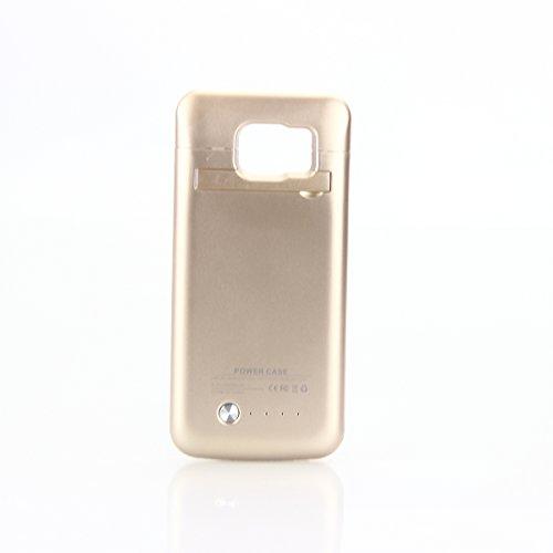 Forhouse Funda batería Samsung Galaxy S6 Edge G9250 4200mAh, Funda de Carga Protectora Cargador Externo Recargable Ultra Delgado con indicador Encendido LED para Samsung Galaxy S6 Edge G9250
