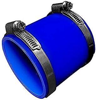 TOYOKING ホースバンド付き ハイテク シリコンホース ストレート ショート 同径 内径 Φ76mm 青色 ロゴマーク無し インタークーラー ターボ インテーク ラジェーター ライン パイピング 接続ホース 汎用品