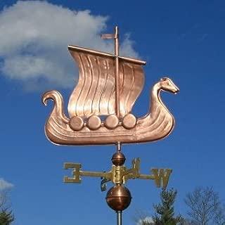 Amazon.com: Fancy Cobre Viking Ship Veleta W/bolas de cobre ...