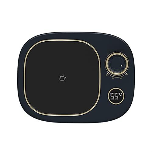 Scalda Tazza retrò Display Digitale Intelligente Temporizzazione Spegnimento Riscaldamento rapido Protezione di Sicurezza Riscaldamento Domestico Base Tazza Acqua Latte (Color : D)