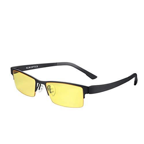 KLIM Optics - Gafas para Ordenador Anti...