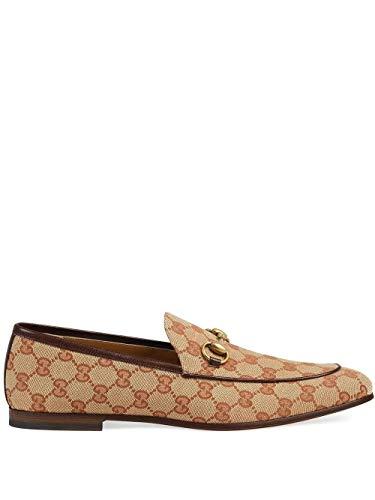 Gucci Luxury Fashion Herren 4300889Y9W08369 Braun Leder Mokassins   Herbst Winter 19