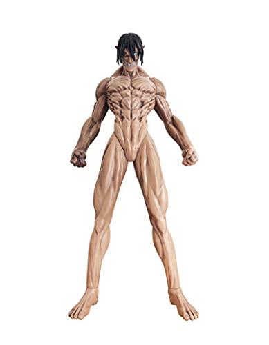 SDFH Anime Attack On Titan Anime Figure 45Cm Eren Yeager Fondatore Titan Giant Doll Action Figuras PVC Nendroid Model Collection Toy