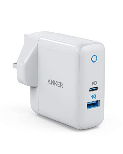 Anker USB C Charger, PowerPort Speed+ Duo 42W Wall Charger with 30W Power Delivery Port for iPhone 11 / iPhone 11 Pro/XS/XR/X, iPad Air 2/Mini, MacBook Pro, Galaxy S9/S8, Huawei P20/P30 and More