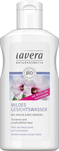 Lavera Mildes Gesichtswasser mit Bio-Mandel & Bio-Malve 3er Pack (3 x 125ml)