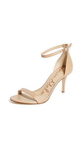 Sam Edelman womens Patti Heeled Sandal, Classic Nude Patent, 8.5 US