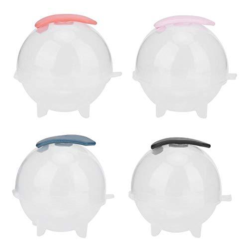 Fdit 4 stuks transparante romanballen krukey ijsmachine vorm als siliconen DIY ijsblokjesschaal gereedschap MEHRWEG verpakking