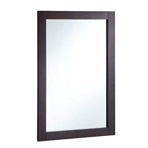 Design House Shorewood 547075 20 30-inch Vanity Mirror, Espresso