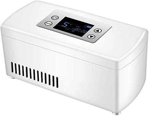 Koelbox start auto refrigeration oplaadbare intelligente kleine koelkast draagbare draagbare dromen dljyy 21 * 10 * 9.5CM blauw