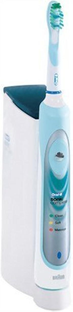 ジョージバーナードエレガント変色するブラウン オーラルB 電動歯ブラシ ソニックコンプリート S1800