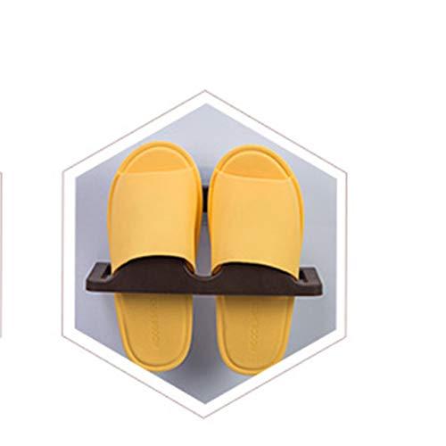 Easyeeasy Colgador para colgar en la pared Zapatero Estante para zapatos Hogar Plástico Montado en la pared Zapatero Zapatillas Estante Organizador de almacenamiento DROP SHIP