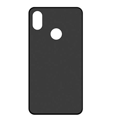 Sunrive Funda para Lenovo K5 Pro, Silicona Mate Funda Slim Fit Gel 3D Carcasa Case Bumper de Impactos y Anti-Arañazos Espalda Cover(W1 Negro) + 1 x Lápiz óptico