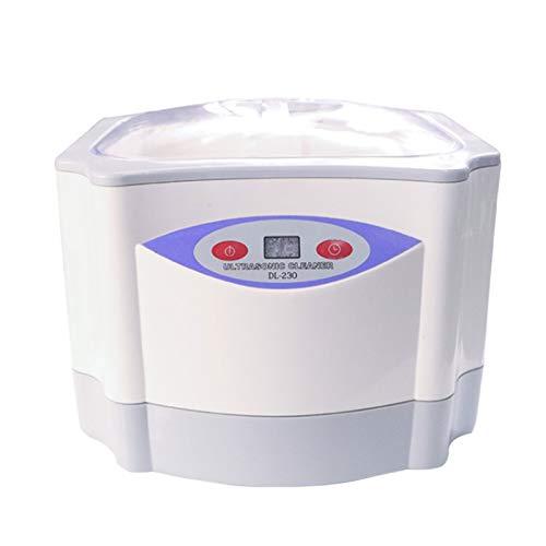 middle Limpiador por ultrasonidos, 40 KHZ, dispositivo de limpieza por ultrasonidos, 1400 ml, limpieza de 360° sin ángulo muerto, depósito de acero inoxidable, joyas de limpieza, aparatos invisibles