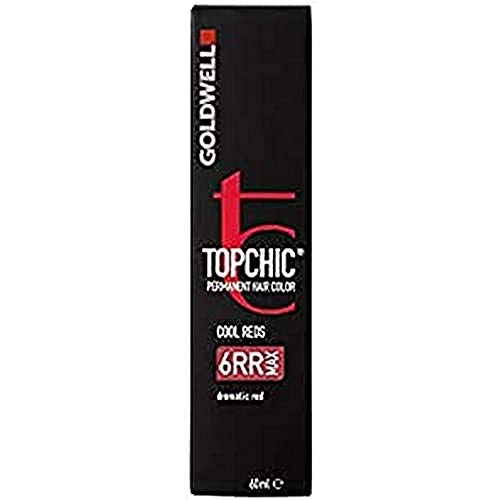 Goldwell Topchic Haarfarbe 6RR MAX dramatic red Das neue Topchic, Wahre Farbexpertise erleben, 60 ml