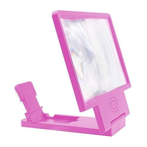 XYSQ Screen Vergrootglas Smartphone, HD Mobiele Telefoonscherm Versterker, Met Ingebouwde Luidspreker Anti-blauw Licht Anti-halo, Meest Slimme Telefoons Universeel