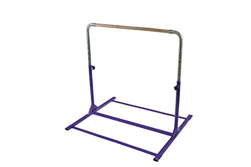 Tumbl Trak Expandable Gymnastics Training Jr Kip Bar, Purple