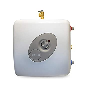 Bosch Electric Mini-Tank Water Heater Tronic 3000 T 7-Gallon  ES8  - Eliminate Time for Hot Water - Shelf Wall or Floor Mounted