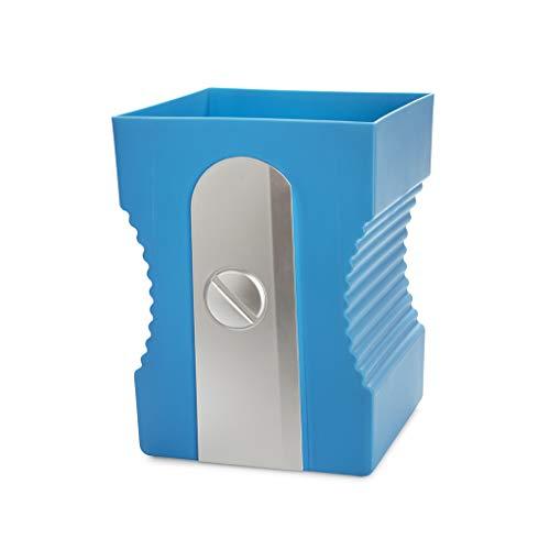 Balvi Papelera Sharpener Color Azul Papelera con Forma de sacapuntas Plástico ABS/PP 29cm