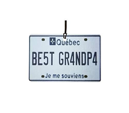 Ali Air Freshener Quebec - Best Grandpa Nummernschild Auto Lufterfrischer