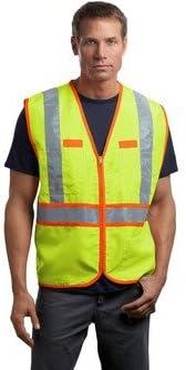 CornerStone; ANSI Class 2 Dual Color Safety Vest. CSV407-simple
